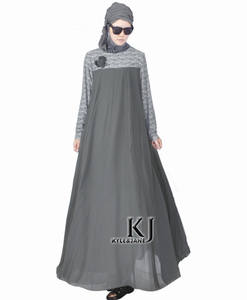 Abaya Muslim Turkish Women Clothing Dubai Arab Robe Dress