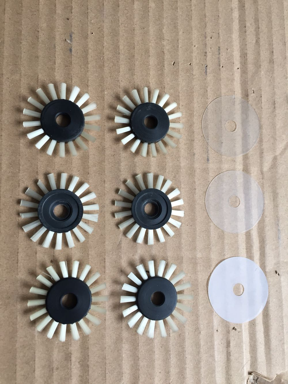 4PCS New Weaving Brush For Silver Reed/Singer Knitting Machine Accessories Sk270 Sk280 Sk840 Sk580 SK360 Sk325 SK322