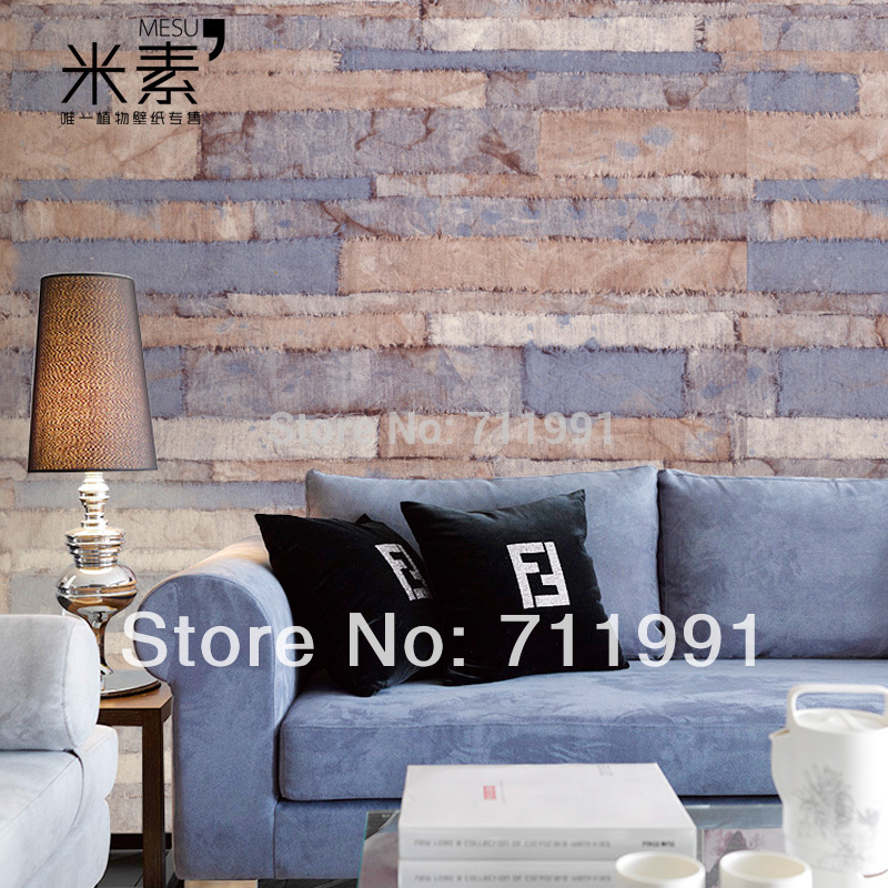 Free shipping custom personalized wove original retro wallpaper bedroom living room TV backdrop wallpaper Glass free shipping personalized fashion figure puzzle 3d wallpaper salon bedroom wallpaper background bar ktv mural