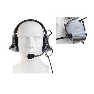 Image 5 - Z tac Airsoftsports taktik Kulaklıklar Peltor Comtac 2/II Askeri Softair Gürültü Iptal Kulaklık Z041 Ile Kenwood PTT z112