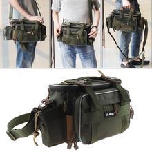 Outdoor Fishing Bags Multifunctional Waterproof Oxford Cloth Shoulder Messenger Tackle Reel Lure Camera Storage Bag