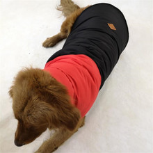 Купить с кэшбэком Pet Puppy Large Dog Clothes Waterproof Coat Jacket Winter Outfit For Small Big Dog Golden Retriever Rottweiler Costume Clothing