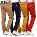 A15 infantil chicos pantalones negros casuales niños pantalones pantalones de los muchachos 2017 nuevo alta Calidad 4 Colores Adolescente Pantalones Lápiz Tamaño 10 12 14 16 año