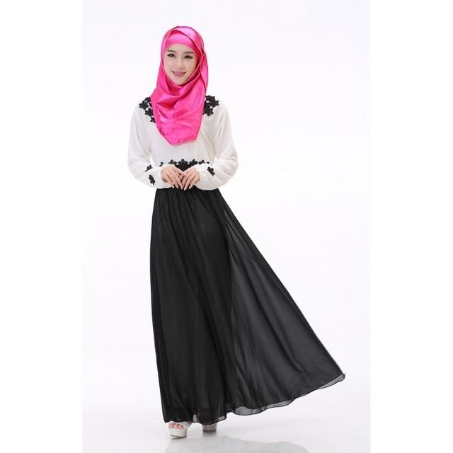 Кафтан Абая Мусульманки Джилбаба Исламская Коктейль С Длинным Рукавом Платье Макси