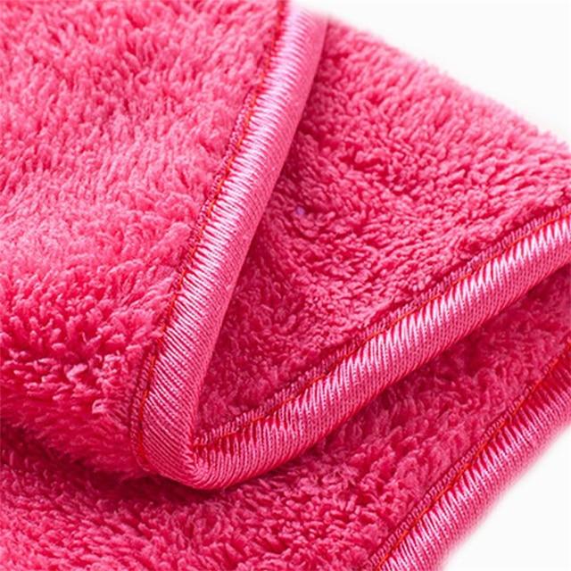 Pink Makeup Removal Towel