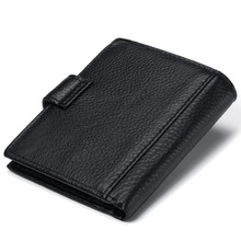 Exquisite Personalized Durable Genuine Leather Men's Wallet