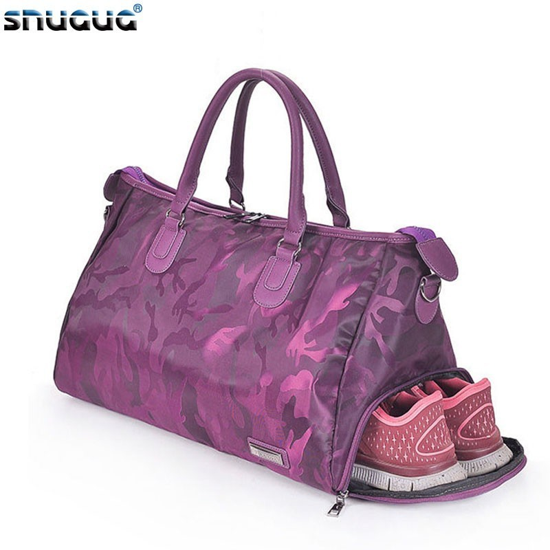 Women Fitness Bags Shoulder Gym Bag For Shoes Training Men Women Traveling Handbags Yoga Sac De Sport Tas Gymtas Sporttas 2019