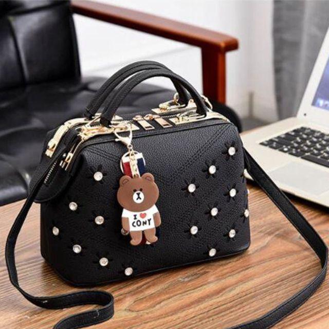 Frauen Handtaschen 2020 Neue Weibliche Koreanische Handtasche Crossbody Förmigen Süße Schulter tasche Blumen Kleine Taschen X474