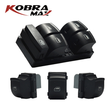 KobraMax Electronic Window Control Switch Fits For AUDI 2005 2012 A3 A6 S6 Q7 Car Accessories