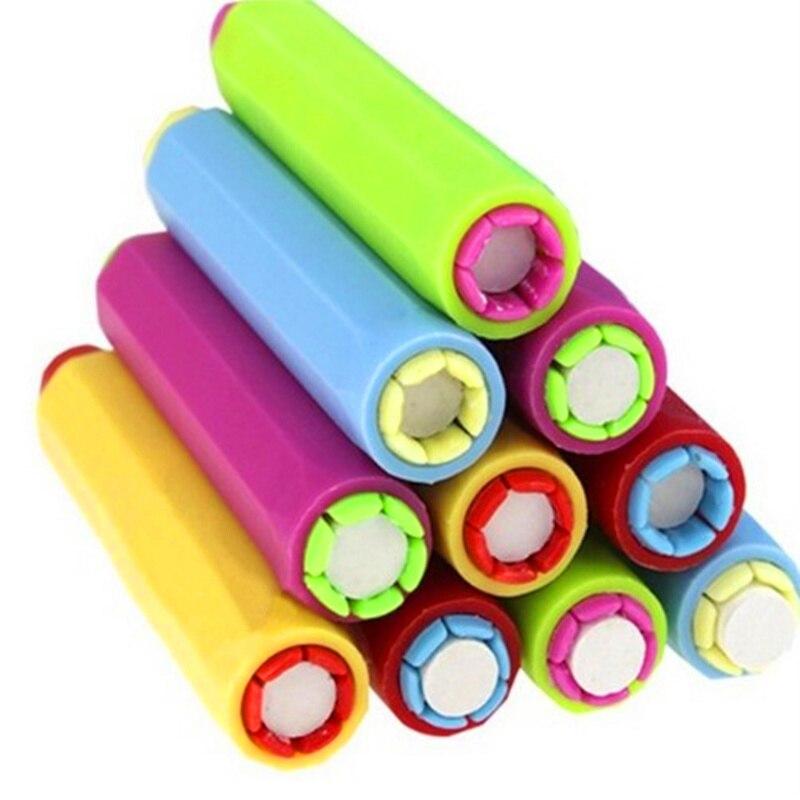 5PCS/LOT New Dustless Chalk Holder Pen Lastic Chalk Clip For Teacher Porta Tiza On Blackboard Sticker Chalkboard