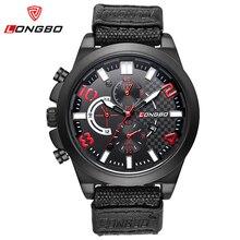 Nuevo Mens Relojes de Primeras Marcas de Lujo de Cuarzo Ocasional Reloj Masculino Reloj de Los Hombres de Nylon Deporte Militar Impermeable de los Relojes Del Relogio masculino