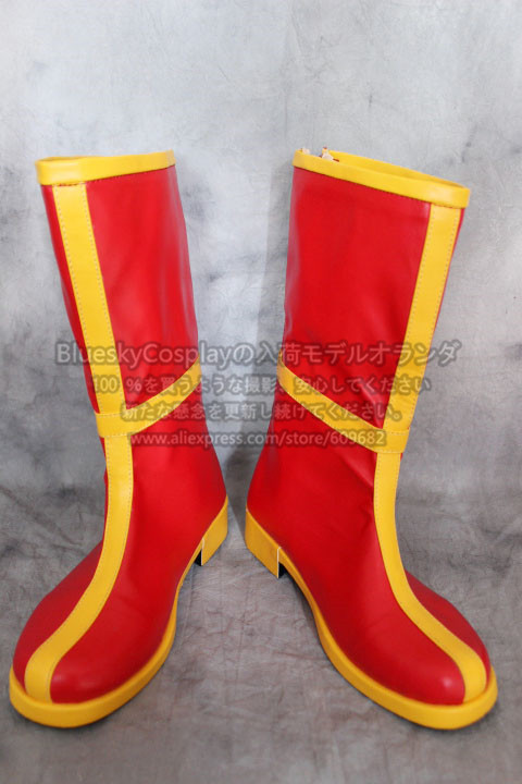 Dragon Ball ChiChi  Cosplay Shoes Boots Custom Made    S00060