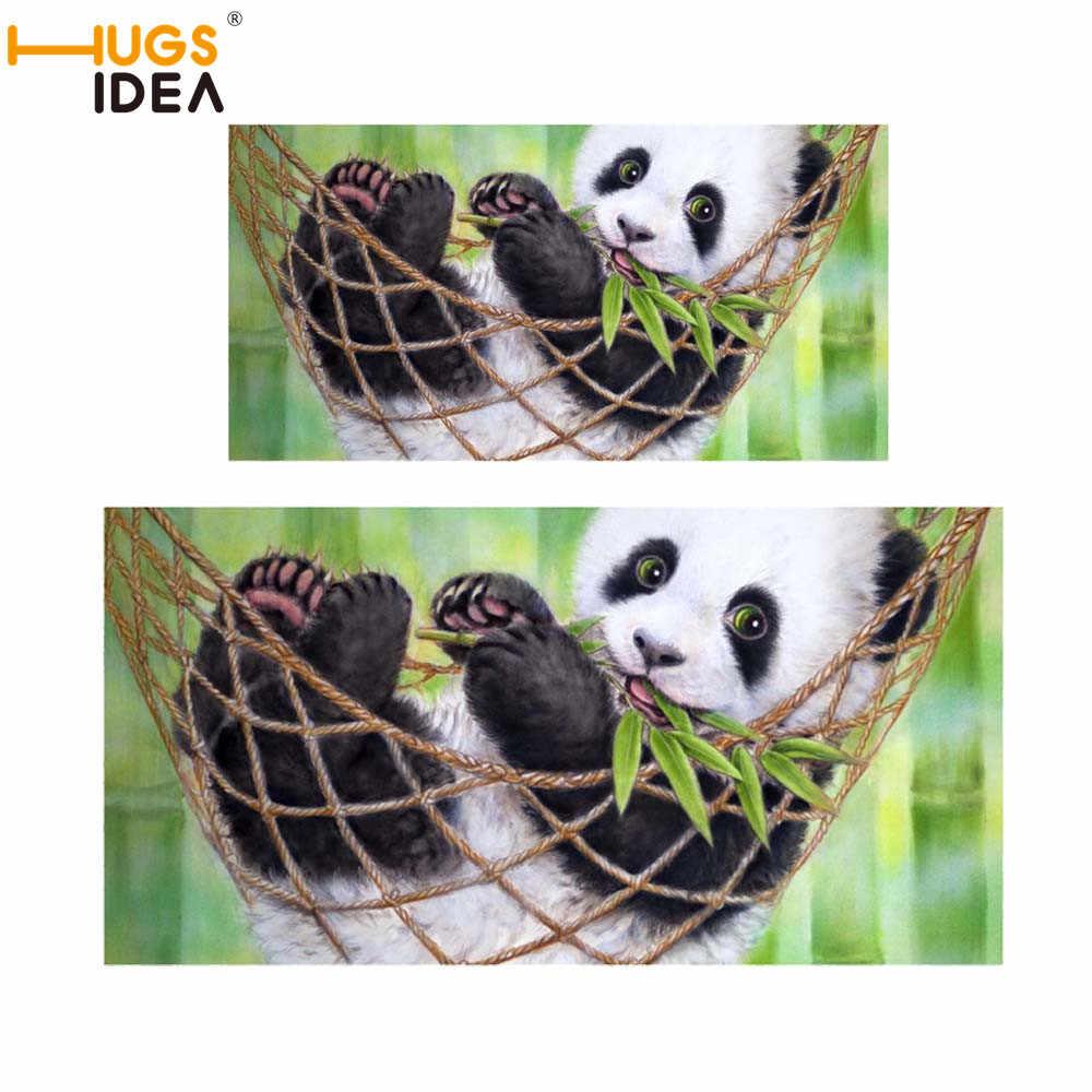 Hugsidea Panda Handuk Set Kualitas Tinggi Wajah Handuk Olahraga Mandi Handuk Kamar Mandi untuk Rumah Hotel Handuk Renang Hadiah Kustom