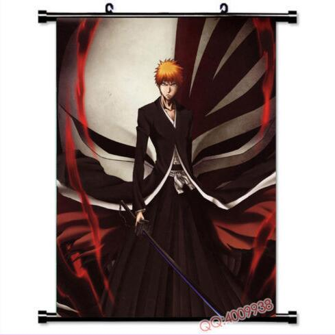 "Ichigo Bleach Gift Sword 36/"" x 24/"" Large Wall Poster Print Fan Art Anime"