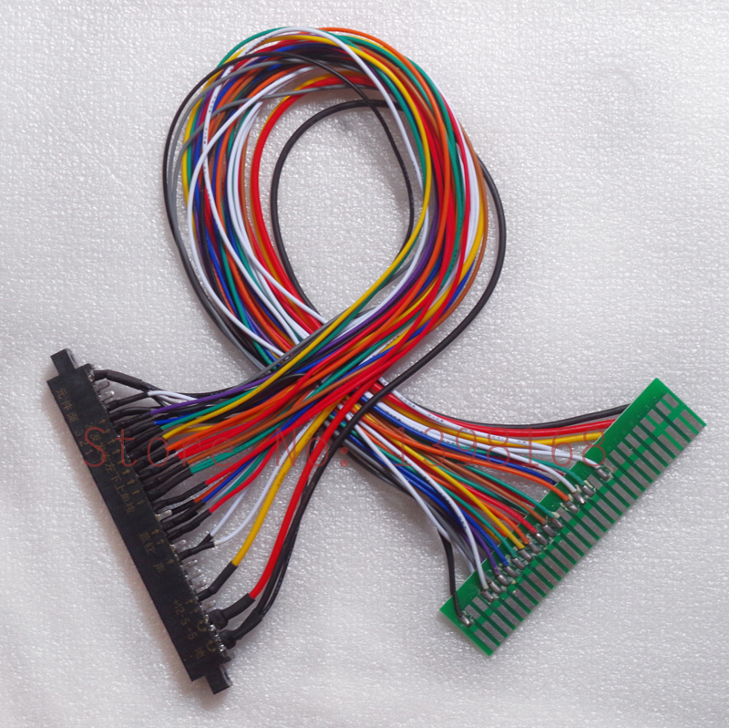 Pin jamma extender harness connect in game board