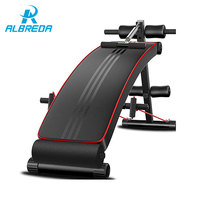 ALBREDA New Fitness Machines For Home Sit Up Abdominal Bench fitness Board abdominal Exerciser Equipments Gym Training muscles