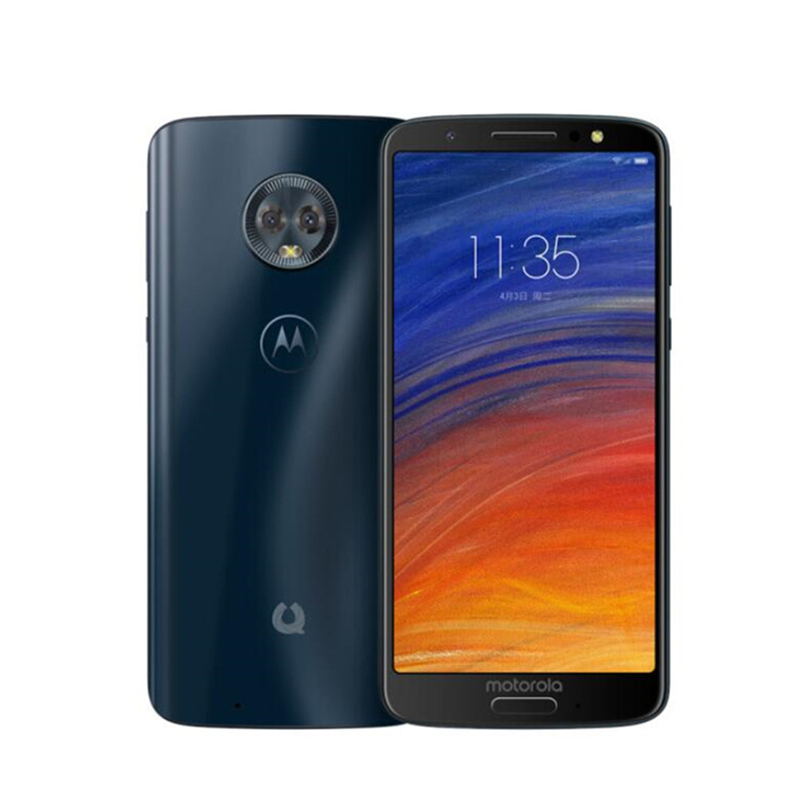 Image 3 - Motorola Mobilephone Moto Green Pomelo 1S XT1925 Snapdragon 450 4GB RAM 64GB ROM 5.7inch 18:9 IPS Fingerprint 3000mAh Cell phone-in Cellphones from Cellphones & Telecommunications