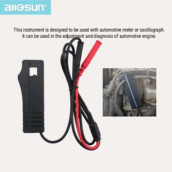 Pro coletor indutivo conjunto de chumbo sistema motor sinal amostragem clampwork com multímetro carro/veículo acessórios/peças allsun ea103