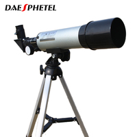 Top Quality Zoom HD Outdoor Monocular Space Astronomical Telescope With Portable Tripod Spotting Scope 360 50mm