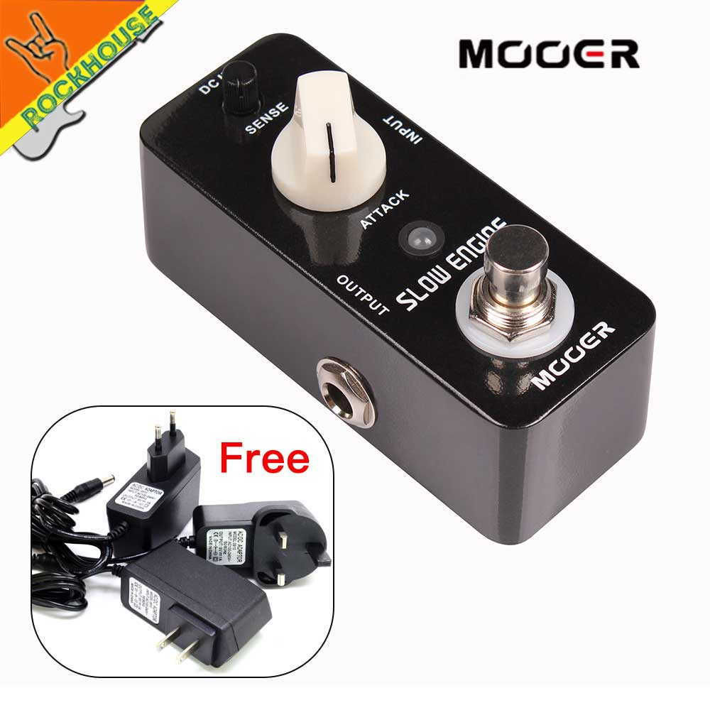 MOOER Slow Engine Volume Controller Guitar Effects Pedal Like a guitarist control the volume knob True Bypass Free Shipping