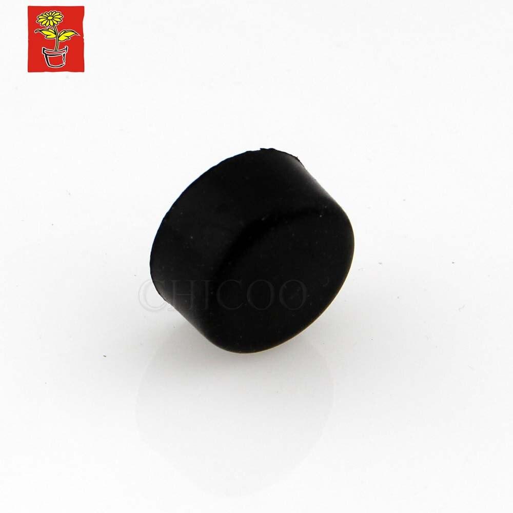 15PCS Black Rubber Door Stop 19mm Dia Door Stopper Door Fittings Door Hardware Accessories