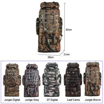 scione 100L Military Molle Bag Camping Tactical Backpack Men Large Backpacks Hiking Travel Outdoor Sport Bags Rucksack XA231WA 1