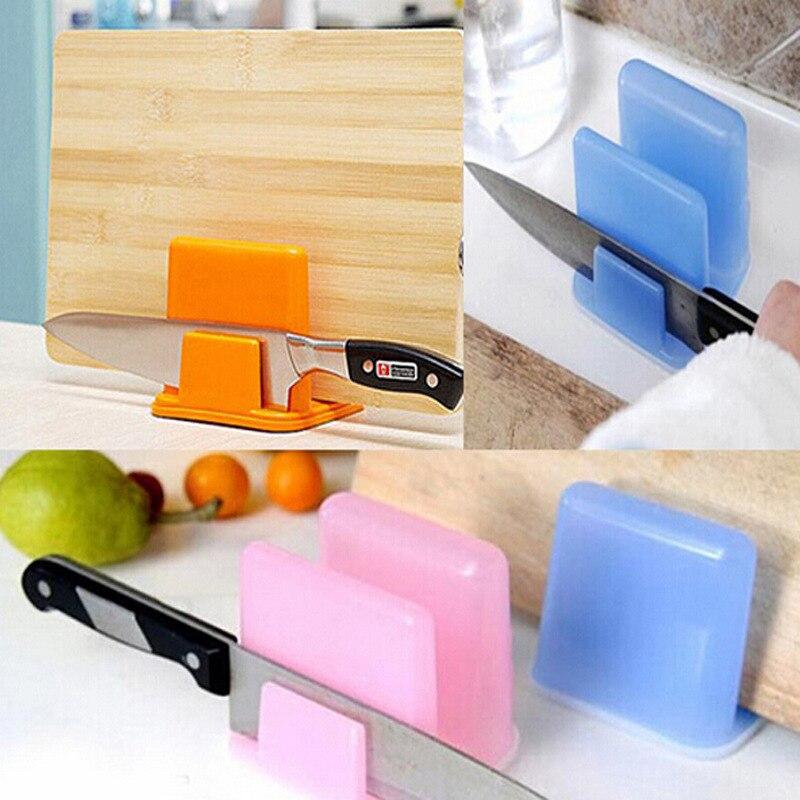 3 Pcs/Set Kitchenware Tableware Storages Multi-function Dish Rack Pot Cover Plastic Dinnerware Holder Cutting Board Frame Boards