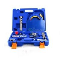 Refrigeration Integrated Flaring Tool Kits VTB 5B Refrigeration Tool Set Expander Refrigerant Table Set