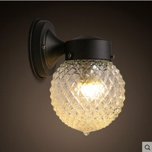 America Country Rustic LED Wall Light For Home Vintage Wall Sconce Beside Lamp Arandela Luz De Parede wall sconce american country golden vintage led wall light fixtures for home indoor lighting beside lamp lamparas de pared