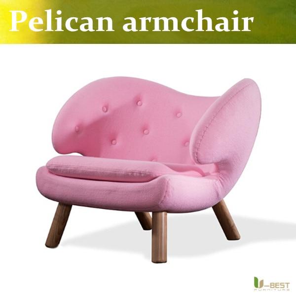 U-BEST Finn Juhl Pelikan Chair Replica, Mitte Des Jahrhunderts Moderne Reproduktion Pelican...