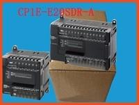 CP1E E20SDR A PLC controller E20SDR Motor Controller CP1E E20SDR A 100 240V AC inputs 12,outputs 8,output type(relay)