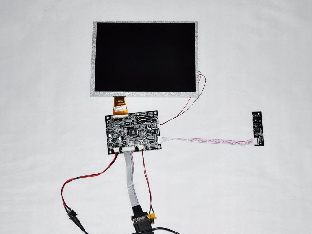 Thani for AUO TFT LCD csreen A104SN03 V1 LCD screen+driver board 10.4 inch LCD A104SN03 V.1 V.0 LCD display screen 10 4 inch a104sn03 v 1 display screen