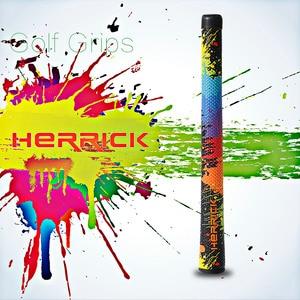 Image 1 - Железные/деревянные ручки для клюшек для гольфа, цветные полиуретановые ручки для гольфа, Нескользящие противоударные высококачественные ручки, бесплатная доставка