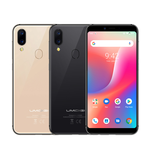 "UMIDIGI A3 Android 9.0 Global Band 5.5""incell HD+display 2GB+16GB smartphone Quad core 12MP+5MP Face Unlock Dual 4G Mobile phone 4"