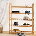 Handmade Bamboo Door Shoe Rack Recycled Shoe Shelf Eco-friendly Shoe Holder DIY Shoe Storage Stand Sapateira Estanteria Zapatero