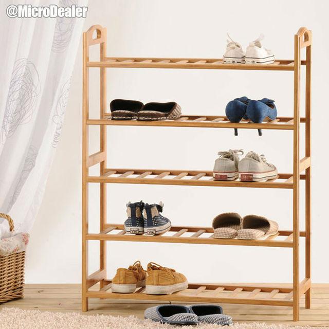 Handmade Bamboo Door Shoe Rack Recycled Shoe Shelf Eco Friendly Shoe Holder  DIY Shoe Storage