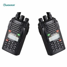 2QTY Wouxun KG-UVD1P Dual Band Classic Walkie talkie VOX FM CTCSS/DCS Scan DTMF Encoding Handheld 5W Two Way Radio Interphone