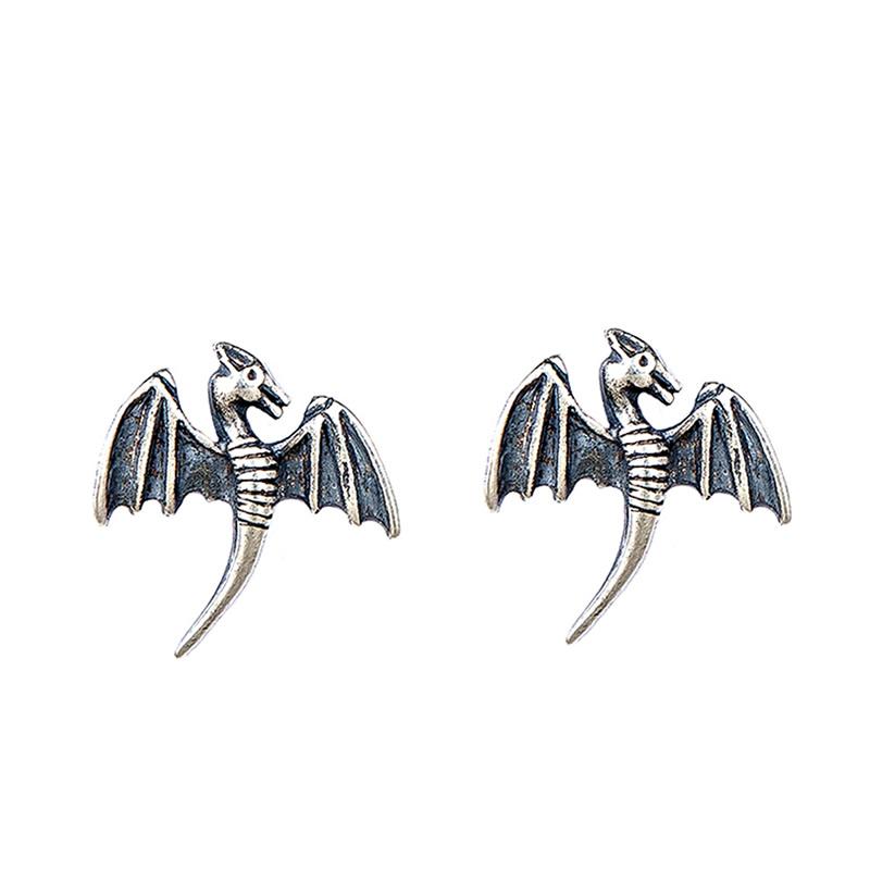 Pteranodon™ 925 Sterling Silver Flying Dinosaur Stud Earrings