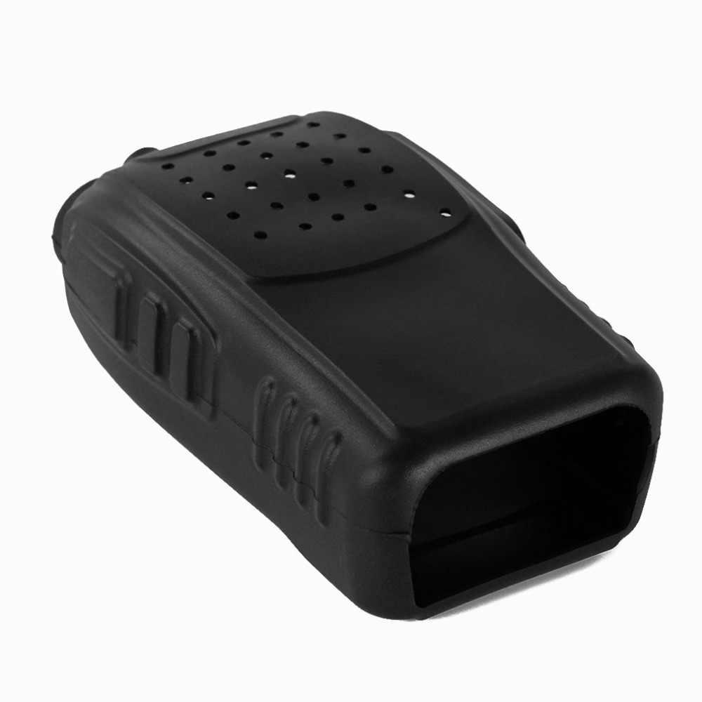 Handheld Zachte Siliconen Case Bescherming Siliconen Cover Voor Baofeng BF-888S 888 S Retevis H777 H-777 Twee Manier Radio Walkie Talkie