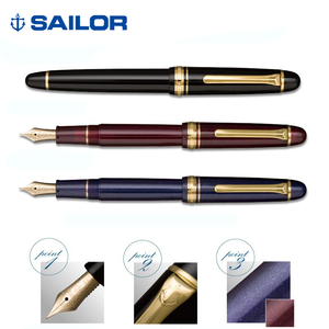 Image 4 - Pens office Sailor fountain pen Japan PROMENADE 14K gold nib 11 1031 Gold plated parts superior quality gift