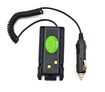 10PCSCar Charger Radio Battery Eliminator for BAOFENG UV89 UV-82 L Two Way radio New