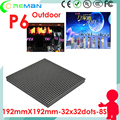 Free shipping p6 rgb led panel 32x32 /  32x32 p6 outdoor smd led module rgb  for stage festival events mobile led display screen