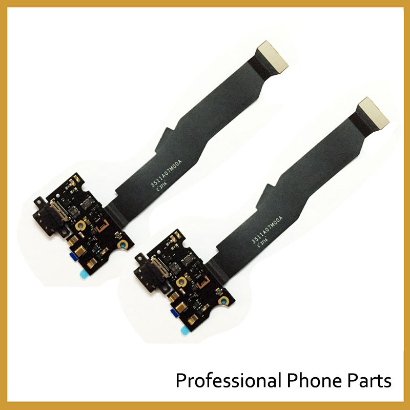 Original For Xiaomi Mi5s Mi 5S Micro USB Charging Charger Port Dock Connector Flex Cable with Microphone Vibrator Board Module