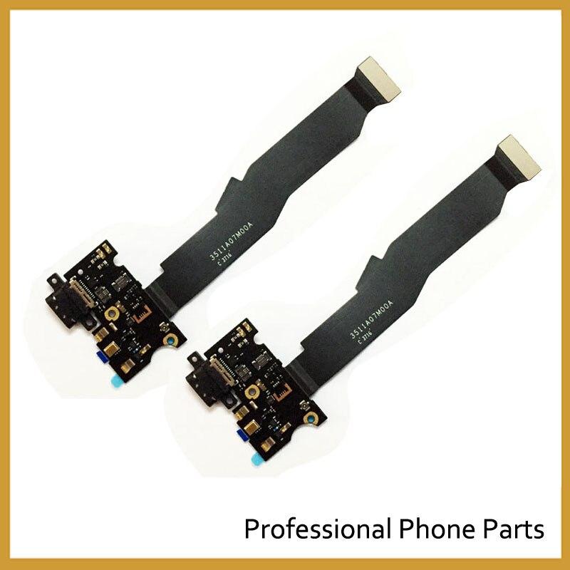 Original Pour Xiaomi Mi5s Mi 5S Micro USB Charging Chargeur Port Dock Connecteur Flex Câble avec Microphone Vibrateur Conseil Module