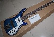 2016 New + Factory + Blue Rickenback custom 4003 firglo 4 strings basselectric guitar ricken bass