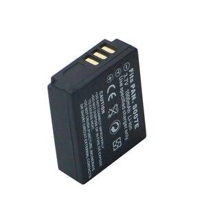 Image 2 - 2Pcs 3.7v 1000mAh CGA S007 CGA CGR S007E S007A BCD10 Battery for Panasonic DMC TZ1 TZ2 TZ3 TZ4 TZ5 TZ50 TZ15 Batteries bateria