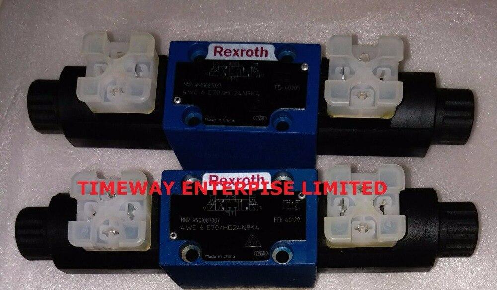 Rexroth Solenoid Valve 4WE6E70 HG24N9K4 Hydraulic Valve R901087087