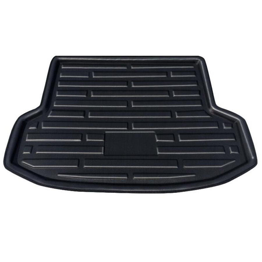 Car Rear Trunk Boot  Waterproof Cargo Liner Mat Cover Floor Tray Protector Pad Fit For Hyundai IX35 2010-2015 AccessoriesCar Rear Trunk Boot  Waterproof Cargo Liner Mat Cover Floor Tray Protector Pad Fit For Hyundai IX35 2010-2015 Accessories