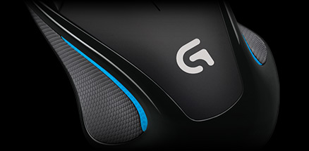Logitech G300S gaming Mouse High reporting rate Left and right hand  symmetrical design 9 programmable buttons