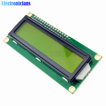 2Pcs/Lot LCD1602 1602 LCD HD44780 Screen Character LCD Display Yellow Blacklight TFT 16X2 LCD Module DC 5V